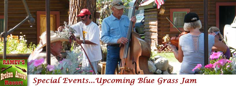 Special Events Blue Grass Jam