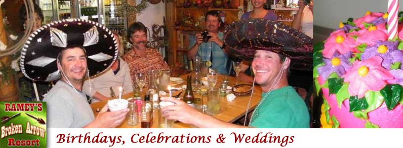 Birthday Parties, Celebration, Weddings